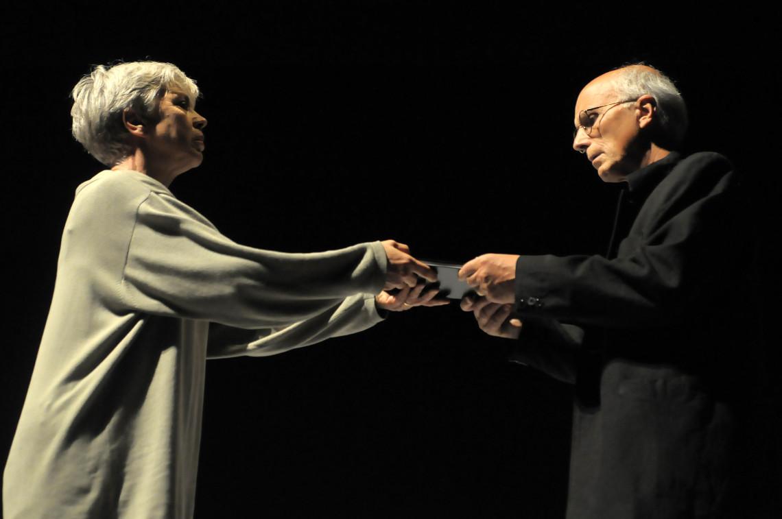 Enigma - Ottavia Piccolo e Silvano Piccardi - (ph Elisa Ottonetti)