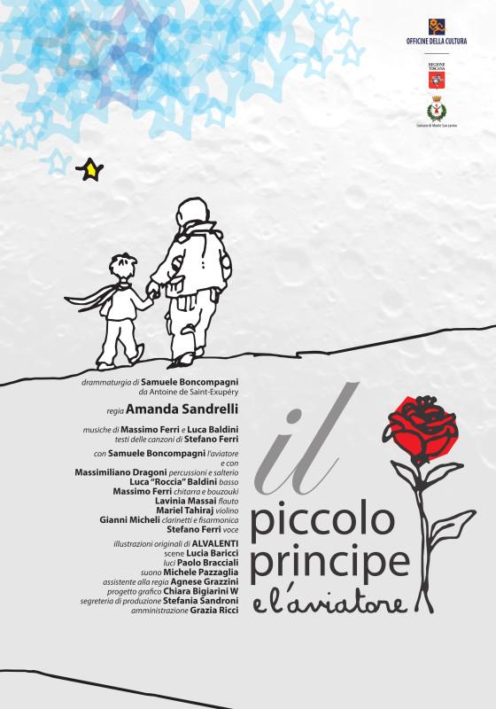 Il piccolo principe e l'aviatore - manifesto